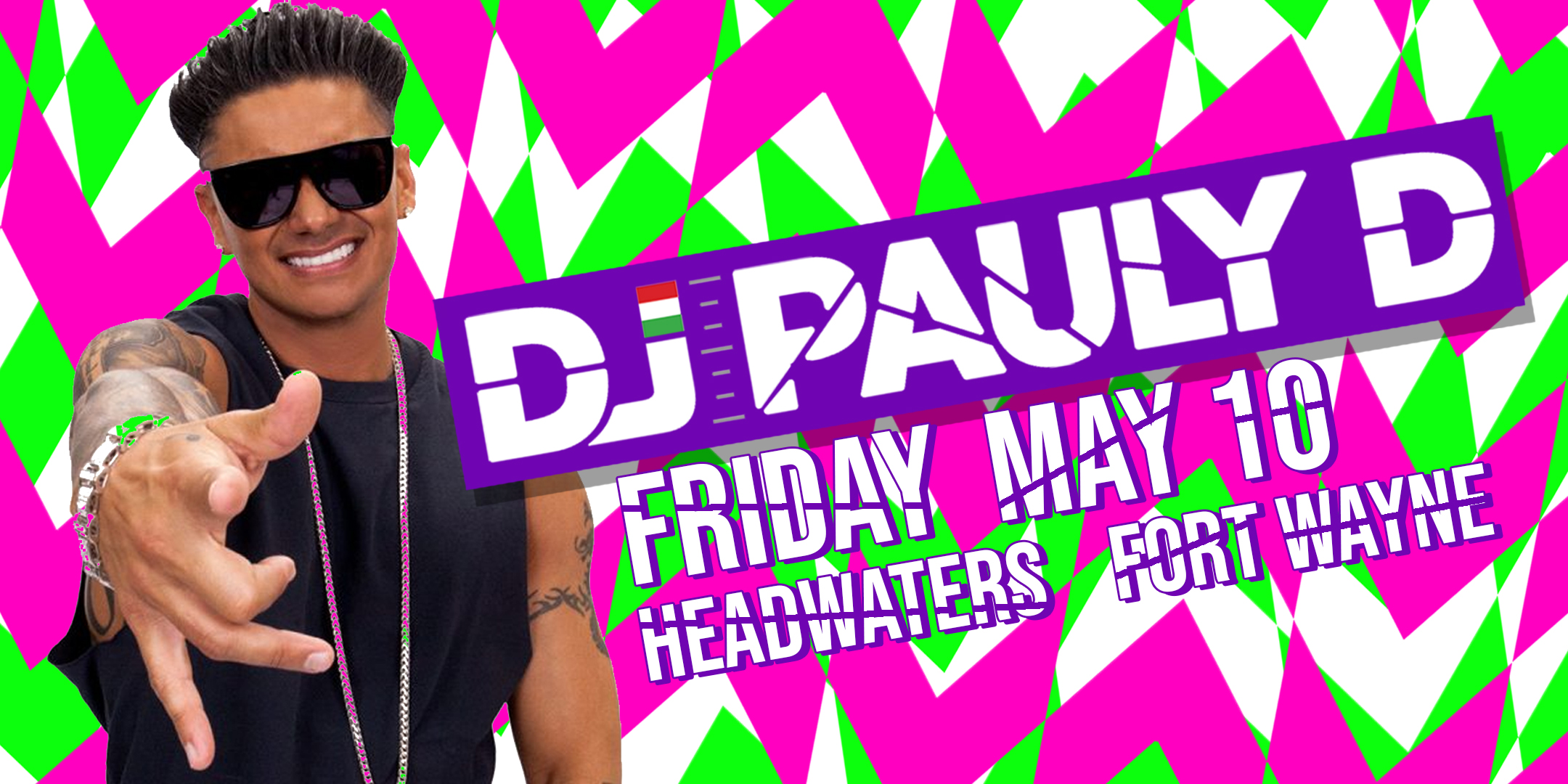DJ PAULY D LIVE! | Fort Wayne Music Festival
